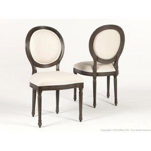 Chaise louis xvi achat vente pas cher for Maison du monde chaise louis xvi
