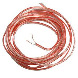 CÂBLE TV - VIDÉO - SON 2M mètres 2x0.75mm2 Câble cordon pour Enceintes