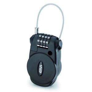 CASQUE MOTO SCOOTER Antivol casque/bagage câble rétractable Givi S220