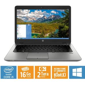 ORDINATEUR PORTABLE Pc portable HP elitebook 840 G1 core i5 16 go ram