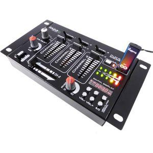 TABLE DE MIXAGE Table de mixage 4 voies 7 entrées DJ21USB-MK2