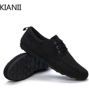 MOCASSIN Chaussure Mocassins homme - Suede chaussures cuir