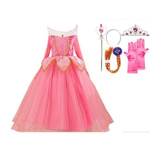 Robe aurore achat vente jeux et jouets pas chers - Deguisement princesse aurore ...