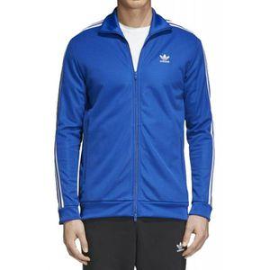 e205e81124a65 VESTE Adidas - Adidas Beckenbauer Tt Homme Veste Bleu ...