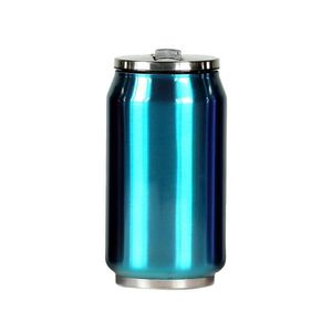 BOUTEILLE ISOTHERME YOKO DESIGN Canette Isotherme 280 ml - Bleu