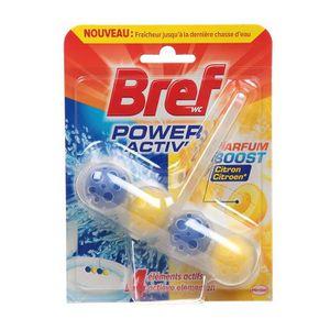 NETTOYAGE WC BREF Nettoyant WC Power Activ' - Citron - 50 g