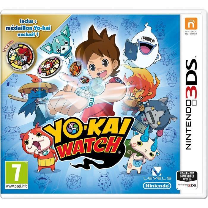 Yo Kai Watch Médaillon exclusif Edition Speciale Limitée Jeu 3DS