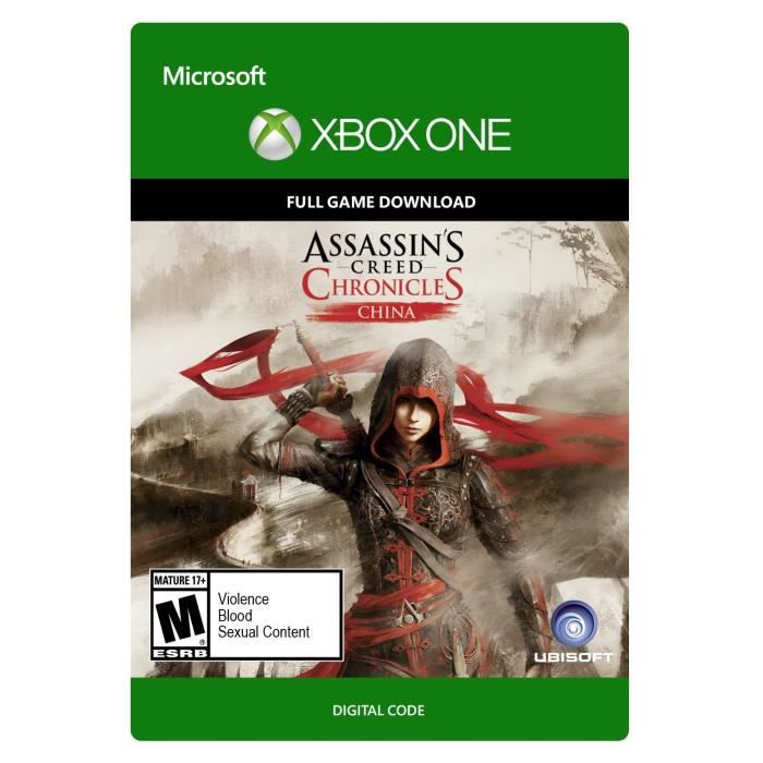 Assassin's Creed Chronicles - China Jeu Xbox One à télécharger