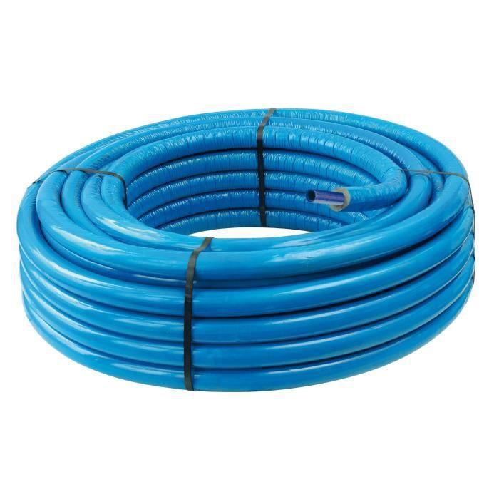 SOMATHERM Tube PER Isolé - Bleu - Ø 6 mm - 10 x 12 - 100 mCABLE - FIL - GAINE