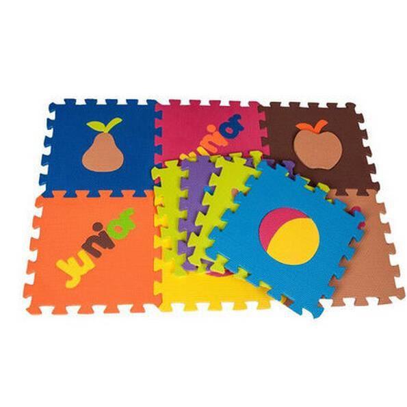 b b ramper bande dessin e jeu de puzzle tapis de sol. Black Bedroom Furniture Sets. Home Design Ideas