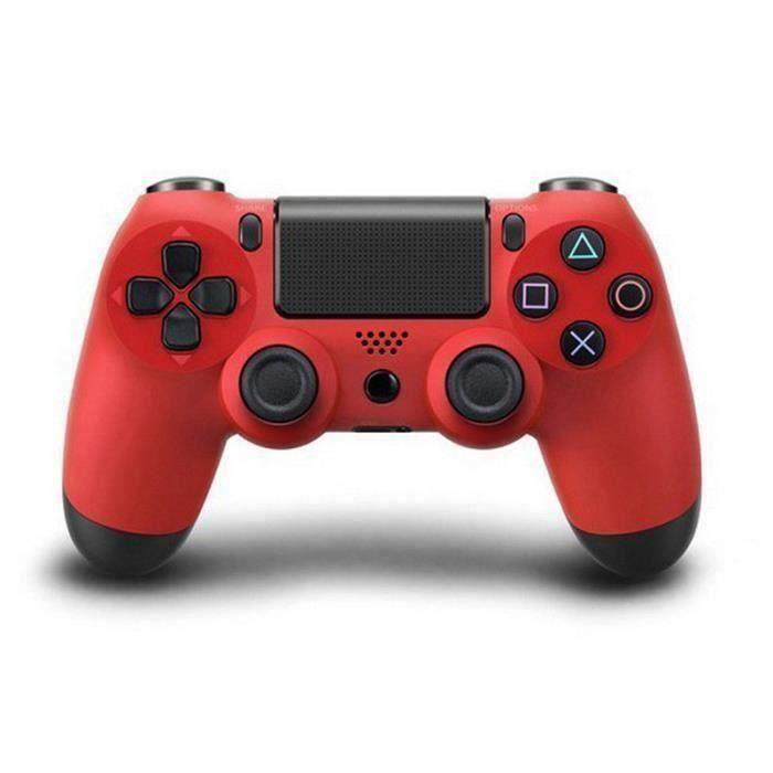 MANETTE JEUX VIDÉO KING Manette Ps4 Sans Fil Controleur de Jeux DualS
