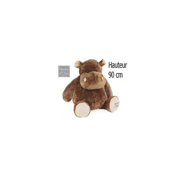 Histoire d ours - HO1287 - Hippo super géant 80cm - Achat   Vente ... 622459bdd553
