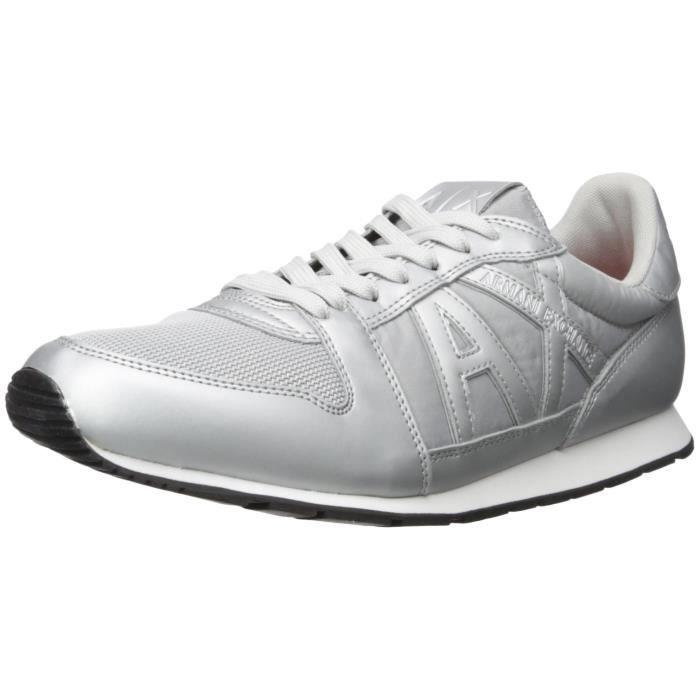 A|x Armani Exchange Courir Retro Sneaker Sneaker Fashion IDNLX Taille-43 gPStxM