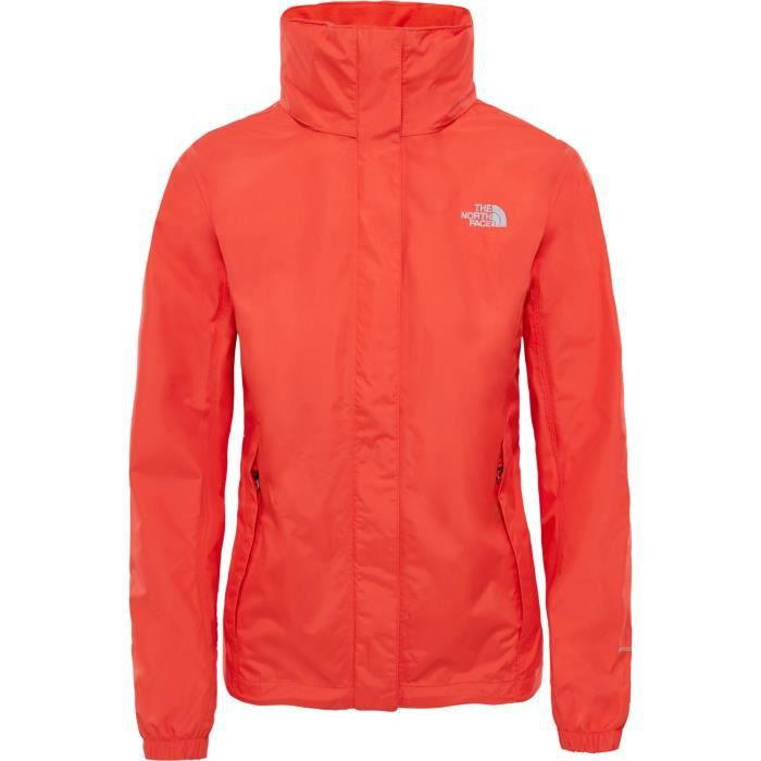 9ac7532026 North Face Resolve Womens Jacket Rouge Rouge - Achat / Vente veste ...