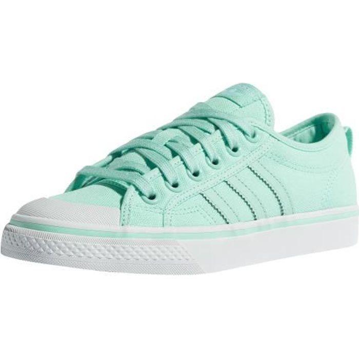 e533782c92ce Adidas originals Femme Chaussures / Baskets Nizza W Vert Vert ...
