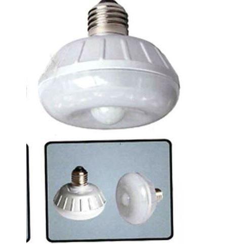 Lampe à détection de mouvement HESTEC - 8 LED - 7 x 7 x 8 cm
