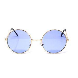 9ec3fcec4cedf9 ... LUNETTES DE SOLEIL Gold Frame lilas lentilles adultes rétro lunettes ...