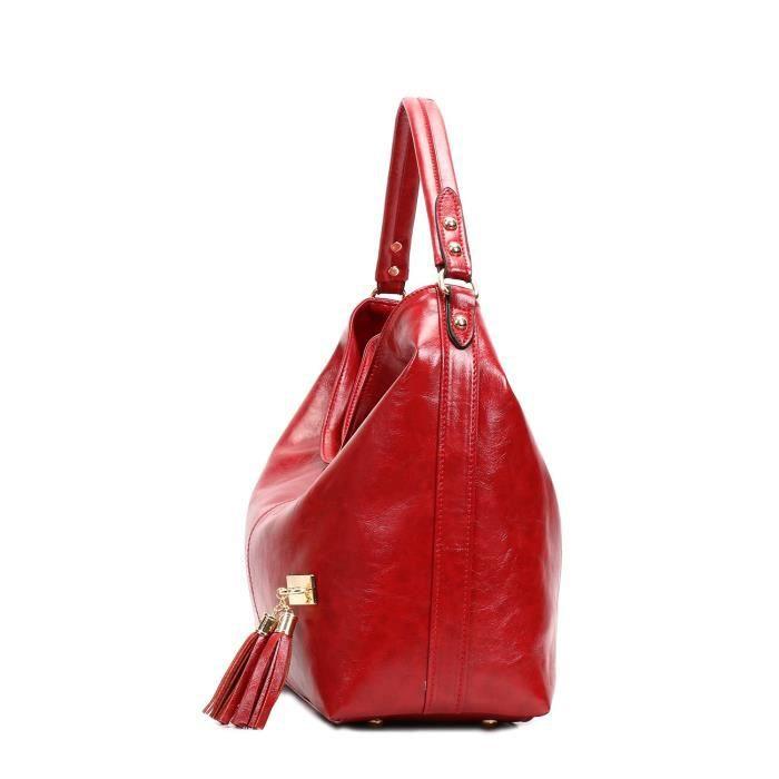 Vintage Pu sacs fourre-tout en cuir Sac à bandoulière Sac à main achat DXO4R