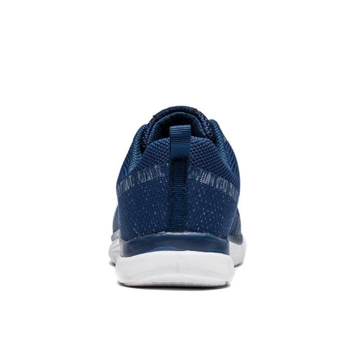 Basket Homme Ultra Léger Chaussures De Sport Casual BZH-XZ109Bleu44