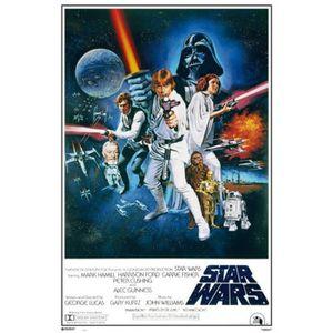 AFFICHE - POSTER Poster Star Wars - Affiche De Cinéma (91 x 61 cm)