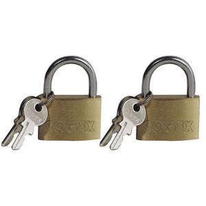 COGEX Lot de 2 cadenas 30 mm avec 2 clés