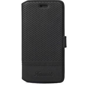 FACONNABLE Etui façonné Perfore pour iPhone 6 - Noir