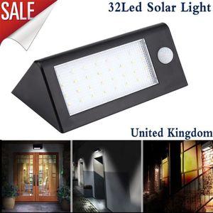 APPLIQUE EXTÉRIEURE Lampe Solaire Etanche Luminaire Exterieur [32 LED]