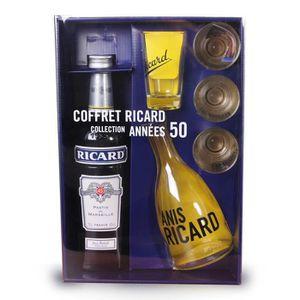 WHISKY BOURBON SCOTCH Coffret Ricard 70cl Collection Années 50 - Anis