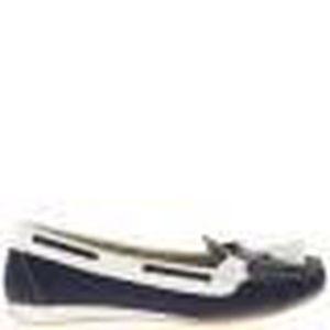 6bc992f09da4a MOCASSIN Chaussures mocassins femme bleus confort à petit t