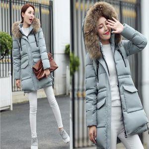 8d7b374063a3 MANTEAU - CABAN Femmes D hiver Vestes Et Manteaux Slim Épais chaud ...