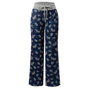 f4b11c8b6017a PANTALON Pantalon de pyjama femmes imprimé taille élastique