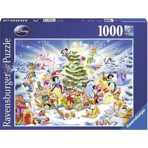 PUZZLE DISNEY Puzzle Noël 1000 pcs