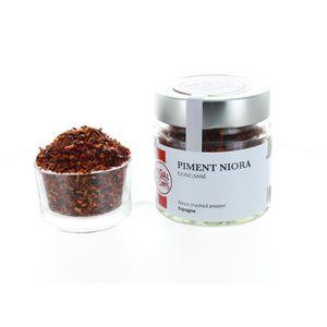 EPICE - HERBE Piment Niora - Concassés - Pot 49 g