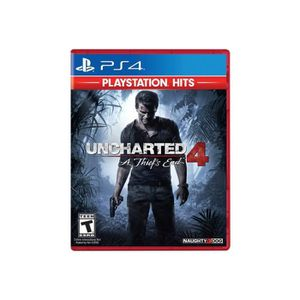 JEU PS4 Uncharted 4: A Thief's End PlayStation Hits PlaySt