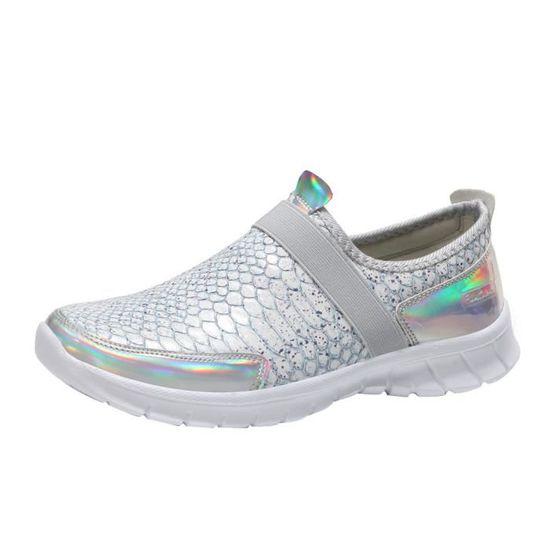 Mode femmes bottes bottes tête pointue fond épais bottes bottes martin bottines classiques@Beige   HEXQ q4357  Argent - Achat / Vente botte eef3f1
