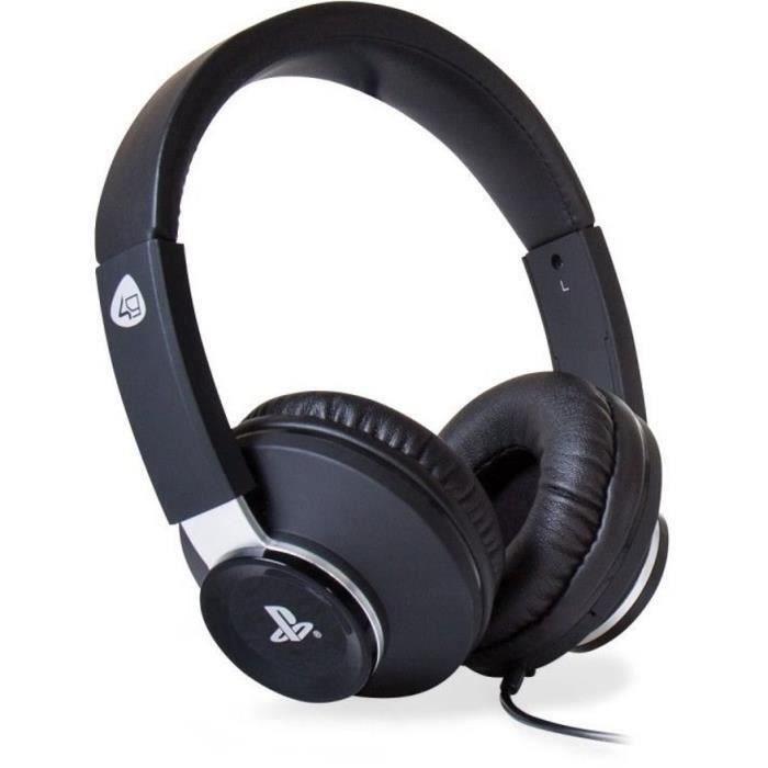 Casque Stereo Pro4-60 pour PS4 Noir et gris