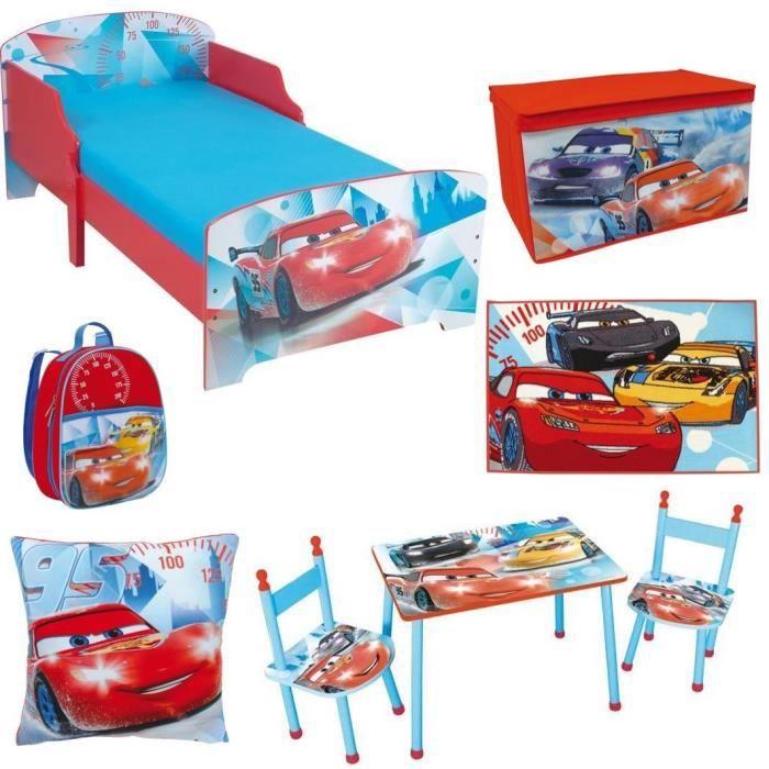 CARS Chambre Enfant Ensemble 6 Pièces
