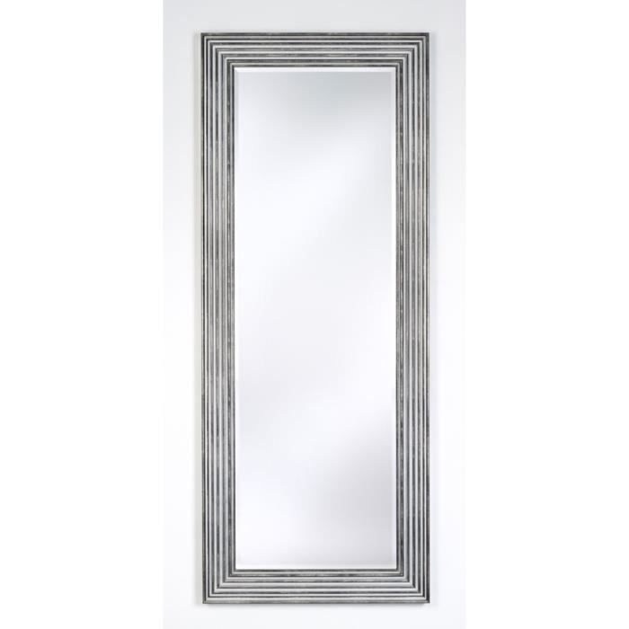 Casa Padrino Luxe Salon Miroir Argent Noir 67 X H 167 Cm