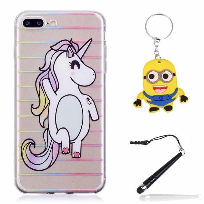 coque iphone 8 plus licorne