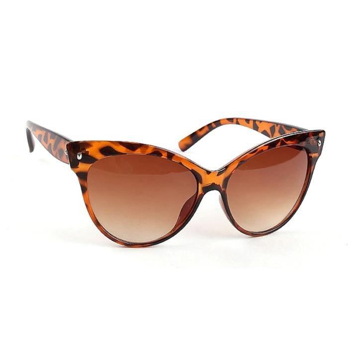 Lunettes de soleil Femmes mode classique Shades Frame L