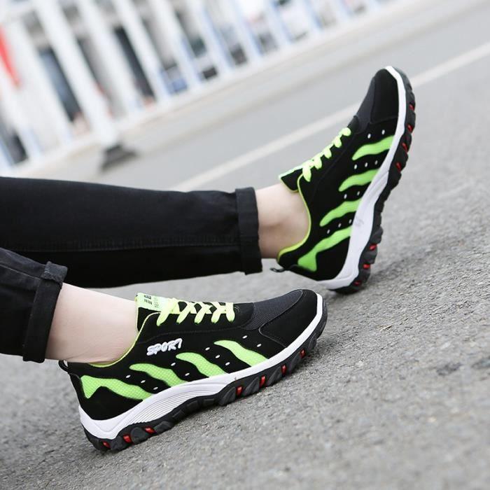 Sport Casual Hauteur Chaussures Vert TQ51fr