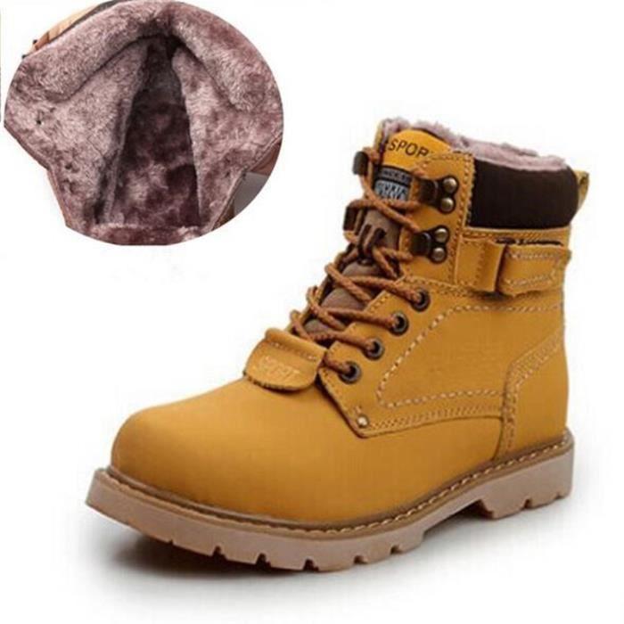 Haute qualité hommes durables bottes de travail homme antidérapantes chaussures en cuir