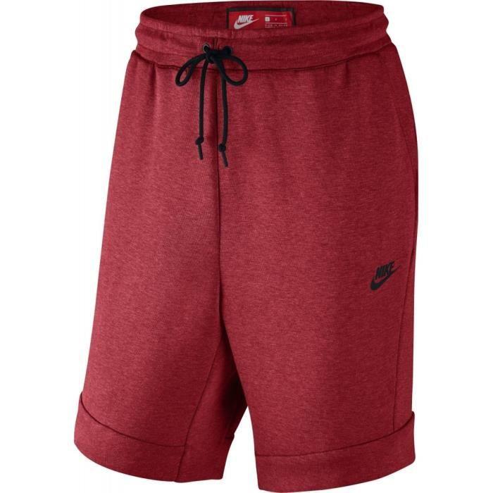 Nike tech fleece rouge Achat   Vente pas cher