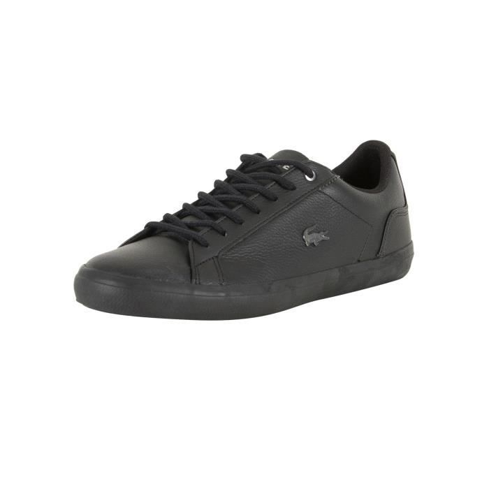 4e2b58329a0 BASKET Lacoste Homme Lerond 317 4 CAM Leather Trainers