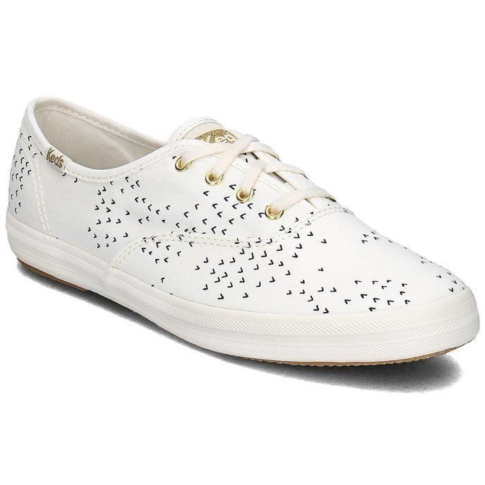 Keds Mini Bird Blanc - Chaussures Baskets basses Femme