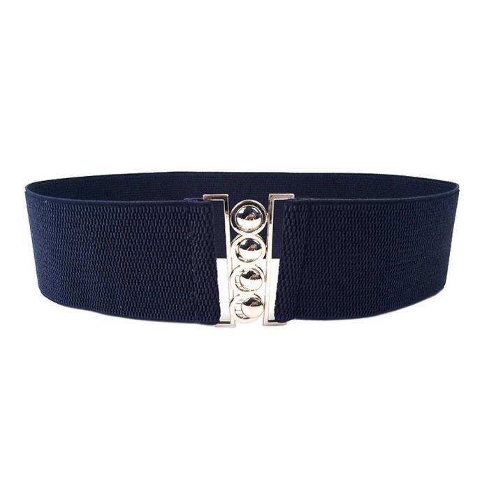 femme-ceinture-elastique-fermoir-pour-ro