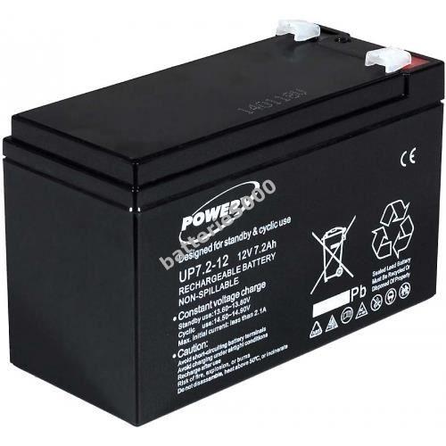BATTERIE VÉHICULE Batterie gel-plomb Powery pour USV APC RBC 2 12...