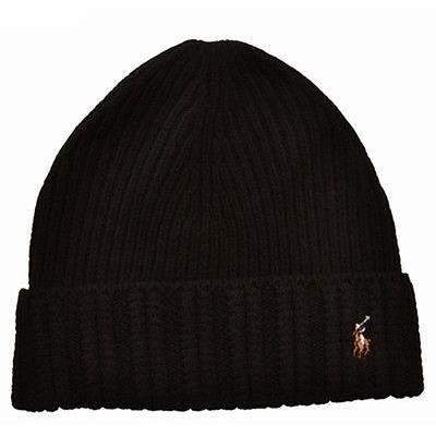 Bonnet Ralph Lauren Polo authentique laine noir - Achat   Vente ... 0e51bf2b05c