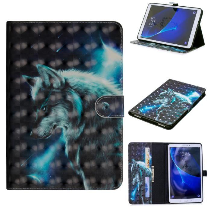 HOUSSE TABLETTE TACTILE Housse Pour Samsung Galaxy Tab A A6 10.1 T580 T585