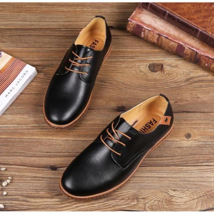 Classique Chaussures Hommes En cuir souple mais robuste. Convient pour porter des affaires ou Casual EU39-48, Klassische